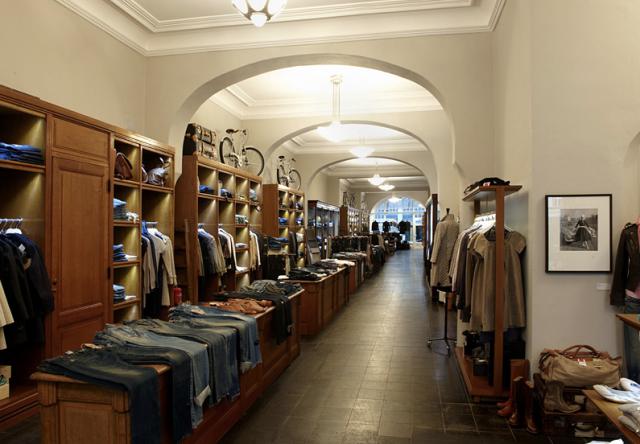Interior da loja 14oz.